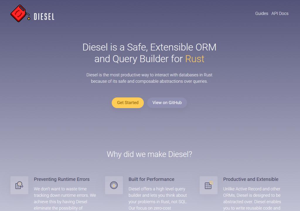diesel.rs
